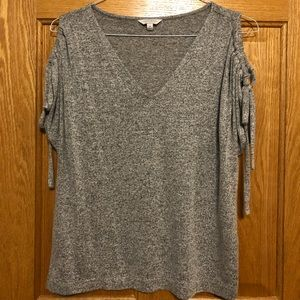 Lucky Brand Soft Cold Shoulder Tee